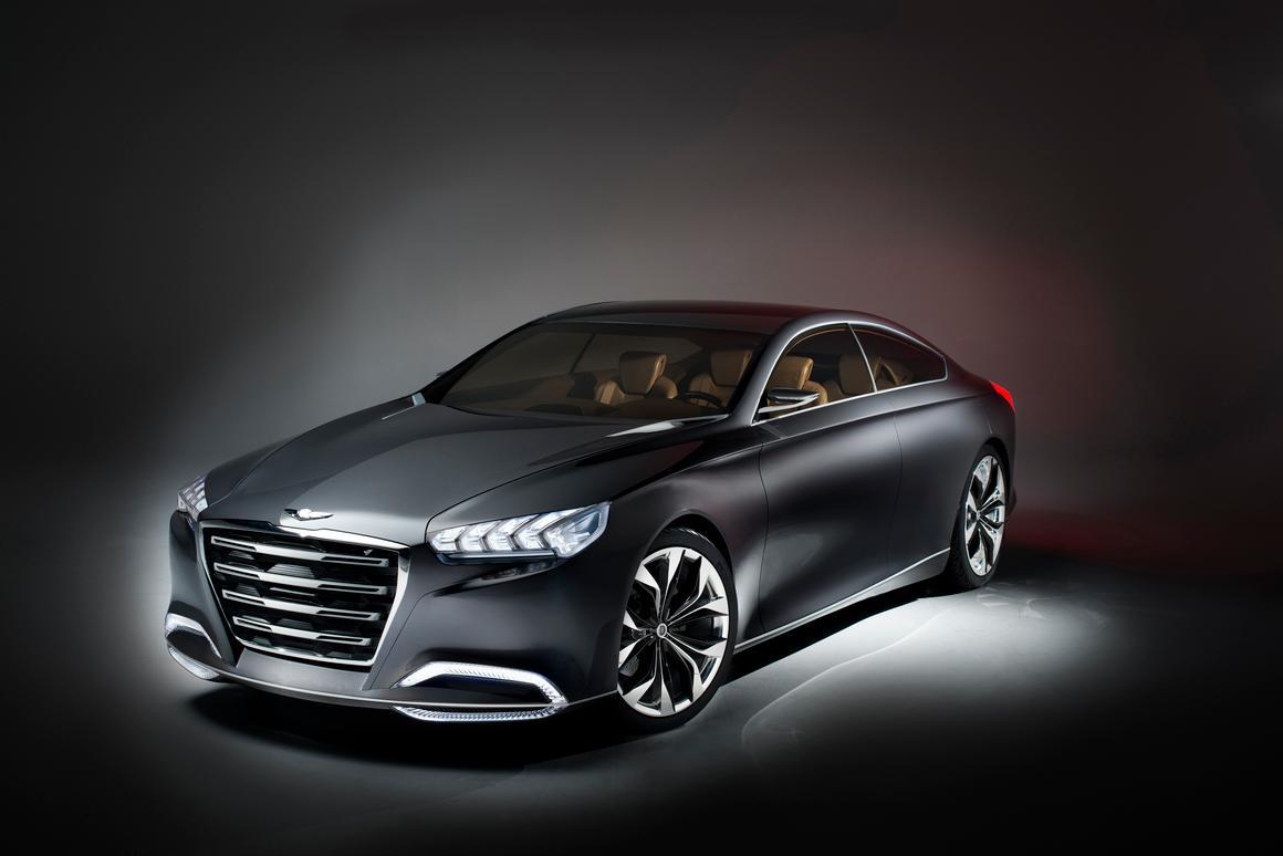 The Hyundai HDC-14 Genesis concept