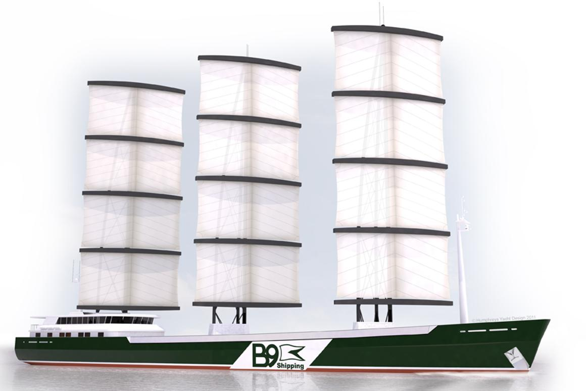 B9 Shipping developing 100 percent fossil fuel-free cargo