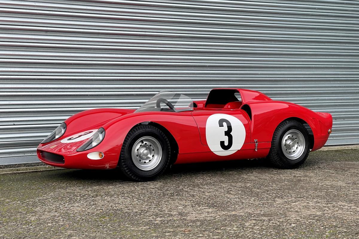 Ferrari 330 P2 Junior by De La Chapelle | Sold for €120,000 ($145,445) at RM-Sotheby's Paris Auction on February 13, 2021