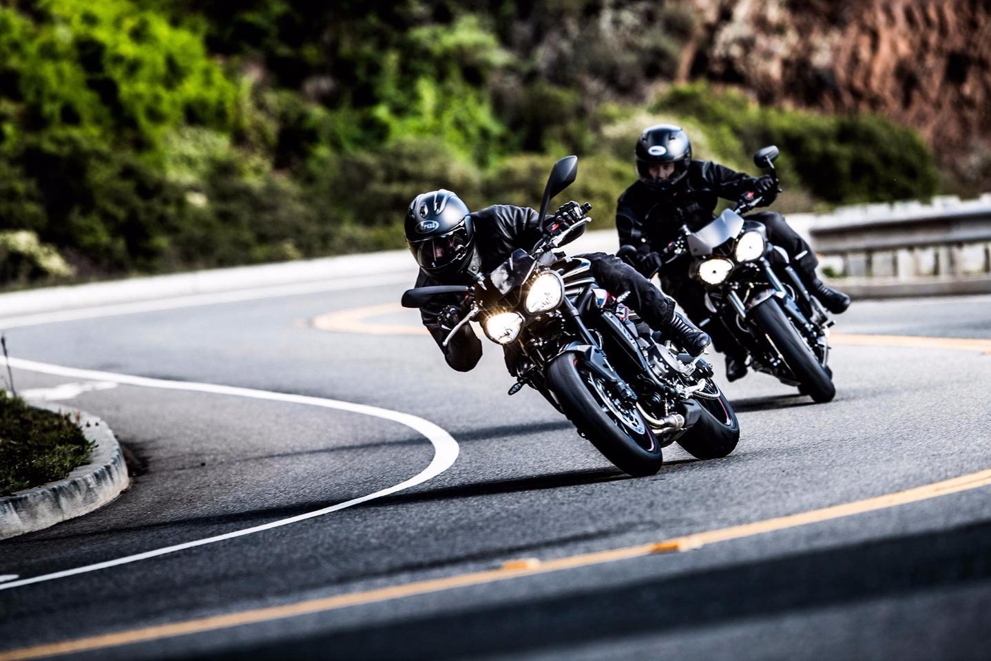 2017 Triumph Street Triple RS studio 3/4 view   Triumph