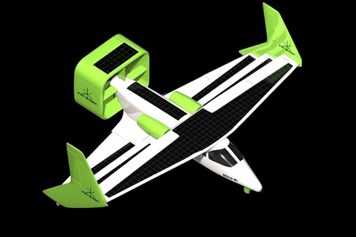 The Faradair BEHA concept is intended to be one of the world's quietest, most efficient and environmentally friendly aircraft ever created (Image: Faradair)