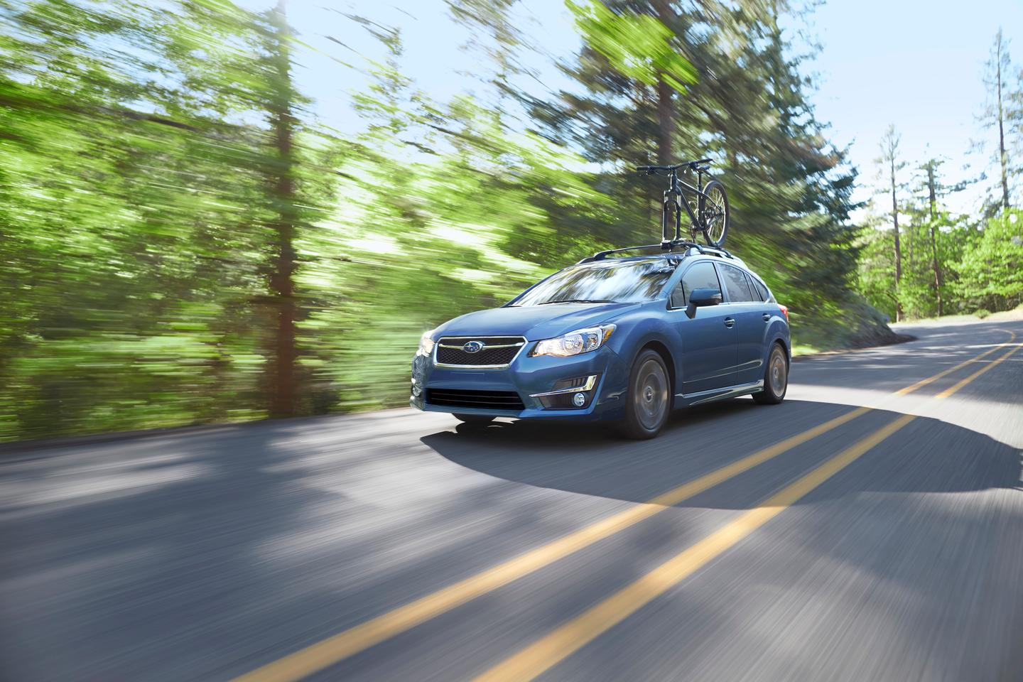 The new Subaru Impreza should be quieter for passengers