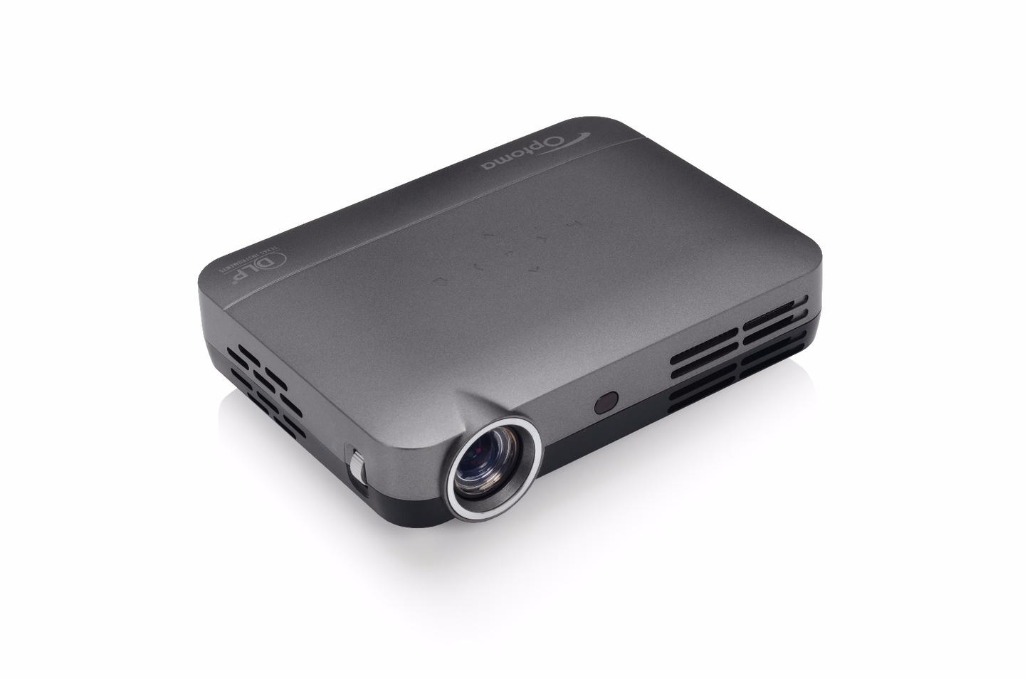 The Optoma IntelliGO-S1 can throw content up to 150 inches at 720p resolution, while an Android OS gives users access to hundreds of thousands of apps