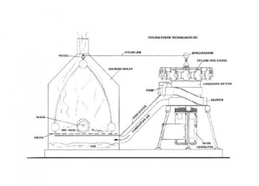 Diagram: Waste Heat Engine