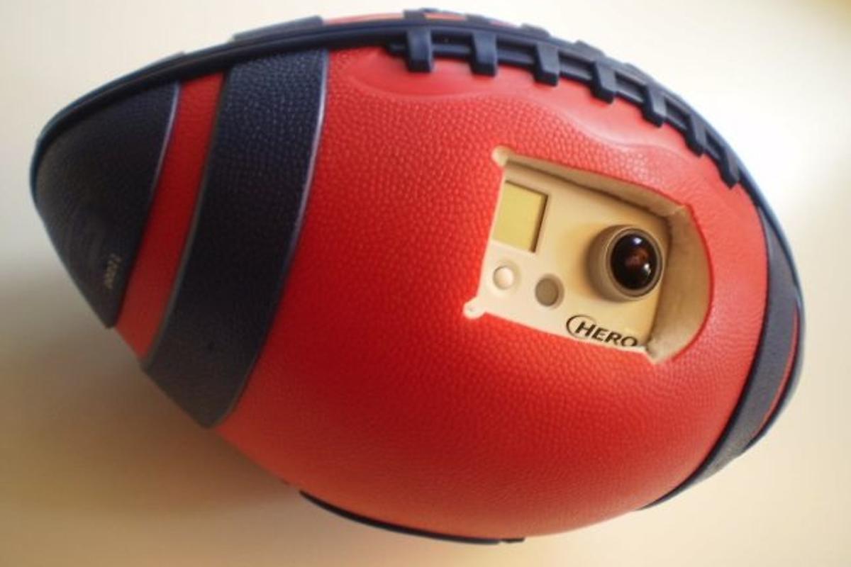 The BallCam prototype