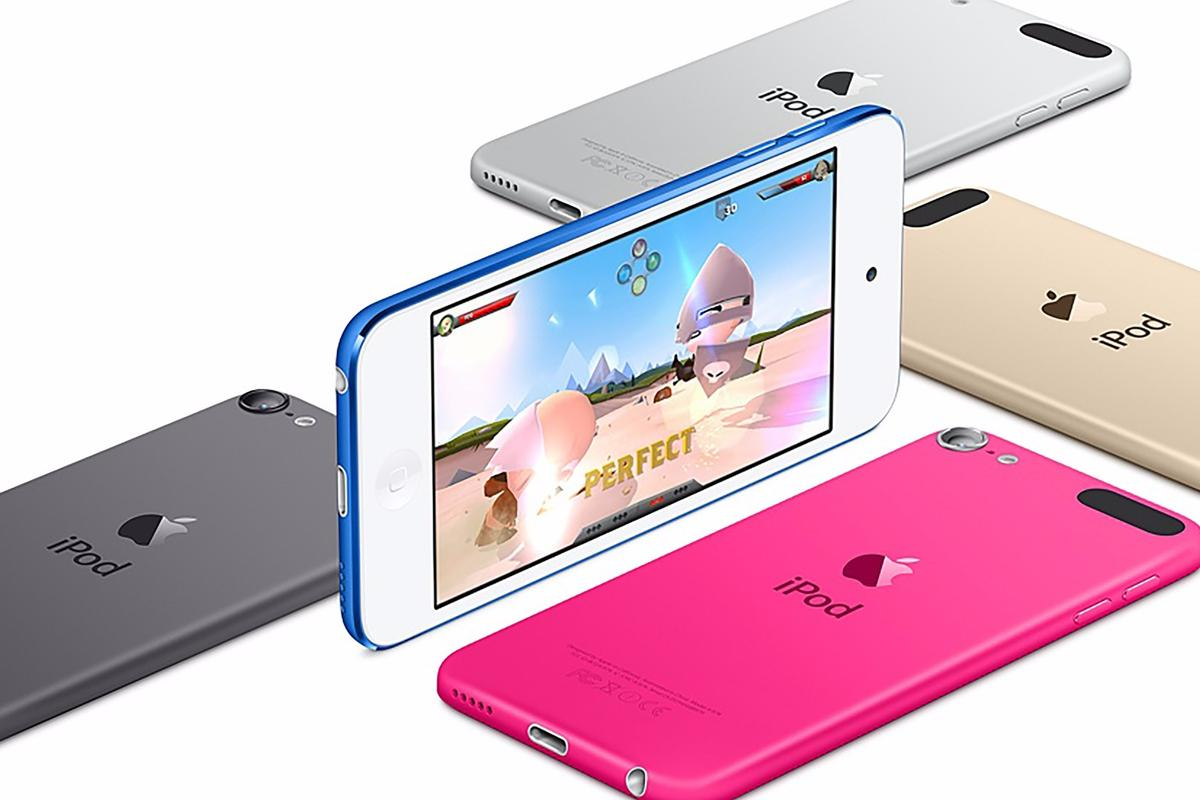 The new iPod touch is powered by the same chip you'll find in the iPhone 6