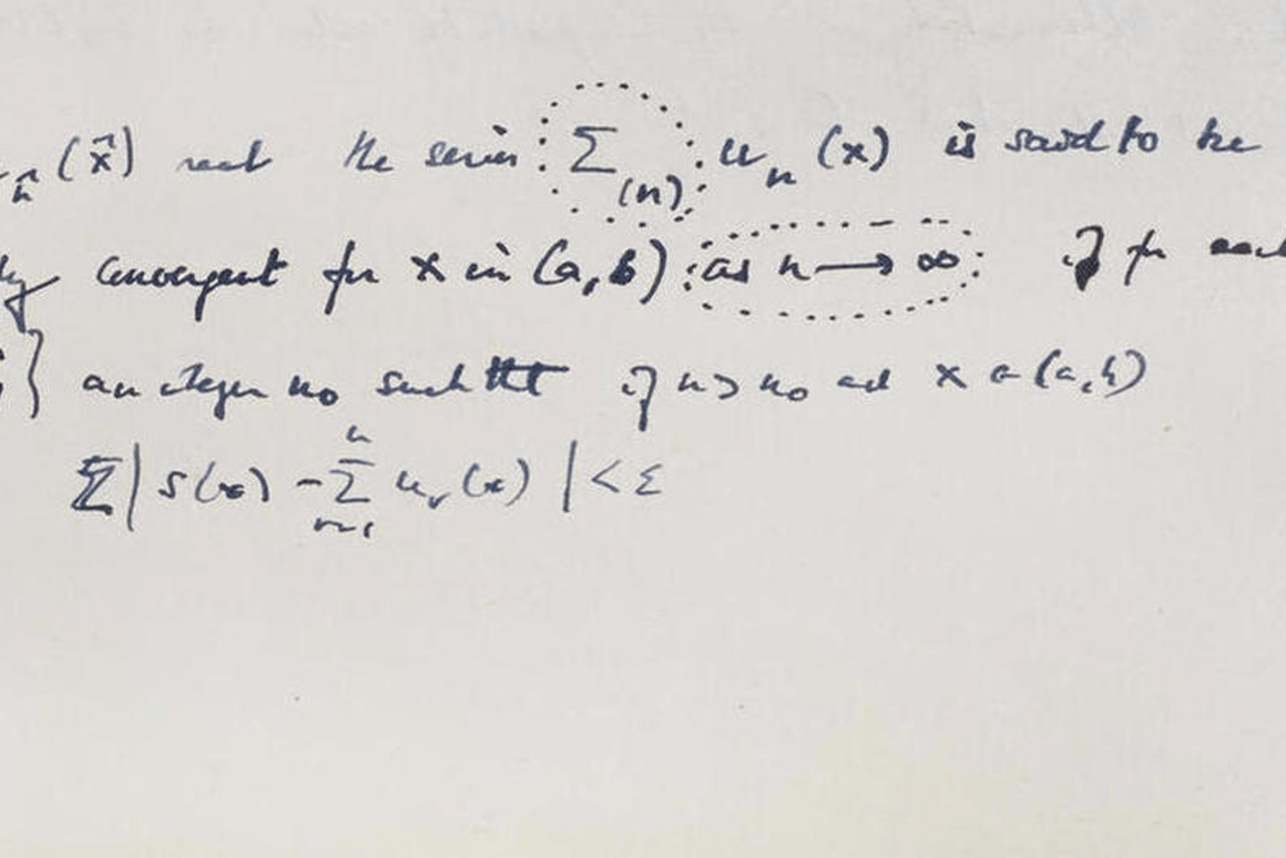 Evidence indicate that Turing wrote the manuscript at Bletchley Park no earlier than 1942, when he was working on cracking the famous German Enigma code