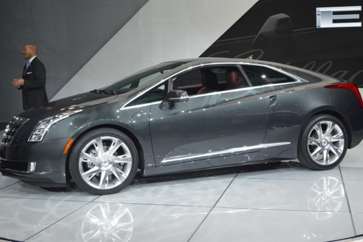 Cadillac prices the 2014 ELR plug-in hybrid from $76,000