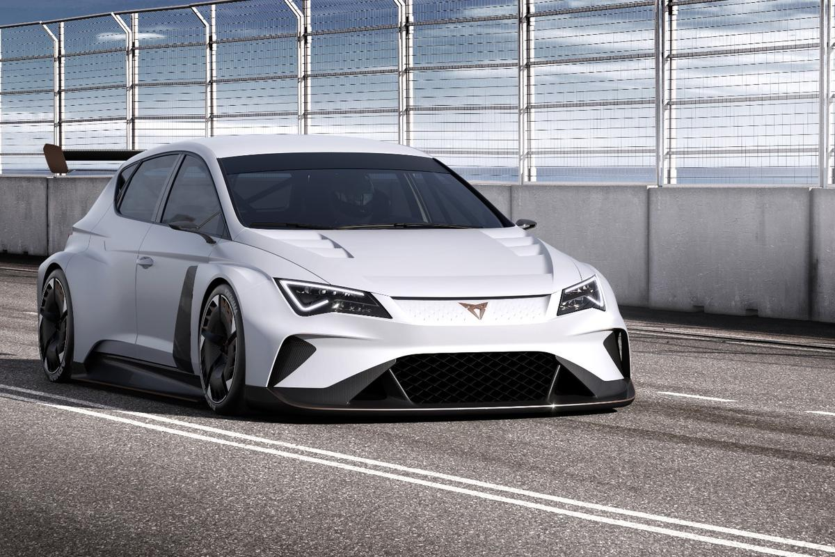 "The new Cupra brand hopes to ""lead the charge"" into the electrification of racing with its Cupra e-Racer"