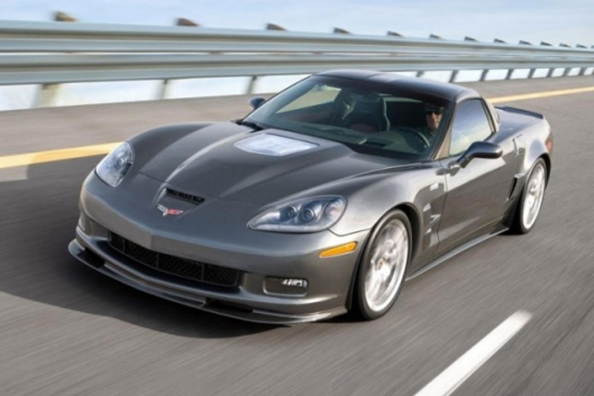Corvette ZR1 - 638 hp and 200mph+