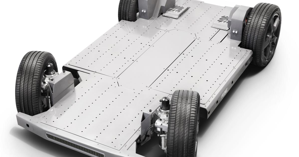 Unique flat EV chassis maker REE to open large facility in the UK