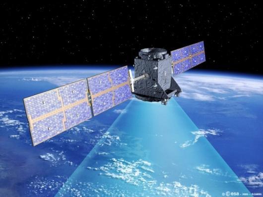 GSTB-V2/A in orbit (artist's impression)Photo: ESA