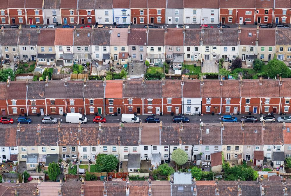 Terraced houses, Bristol, England by Alex Wolfe-Warman - Winner, Urban view, Landscape Photographer of the Year 2018