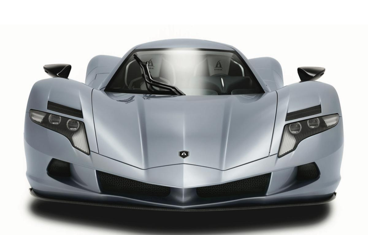 The Aspark Owl isn't the prettiest of all hypercars, but it's memorable thanks to the inward slanting hood and high-arched fenders