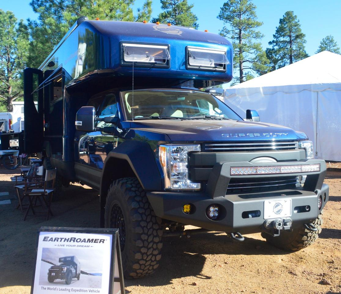 EarthRoamer shows the 2017 XV-LTS at Overland Expo West 2017