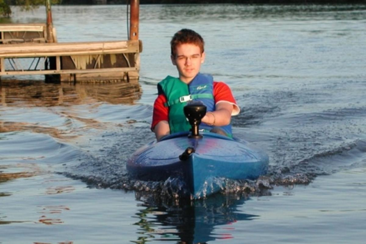 Cruising with the MotorYak Electric Propulsion system