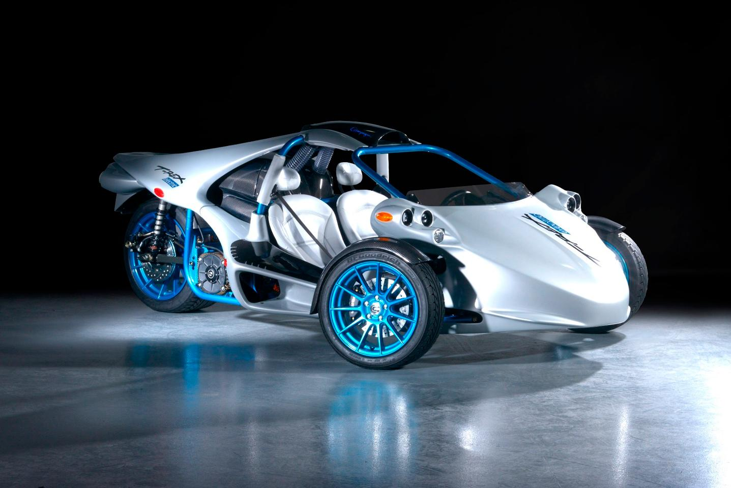 Campagna's electric T-Rex is currently at the first prototype stage of development