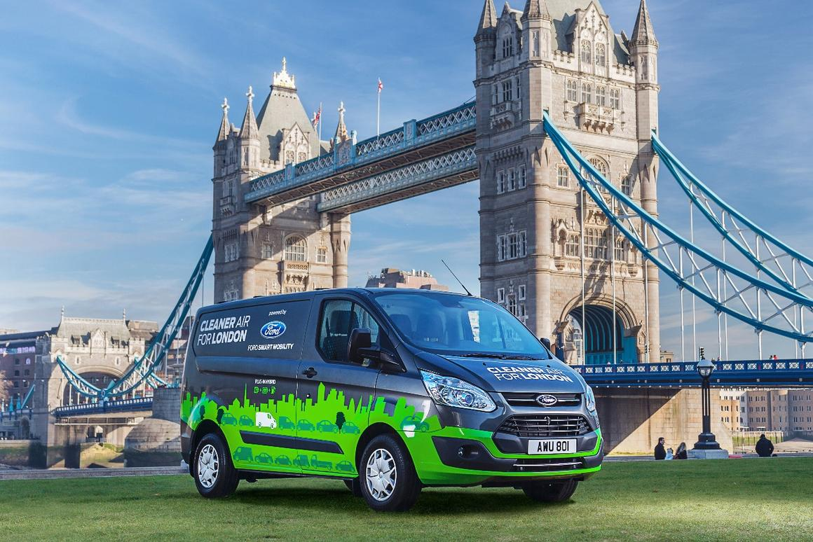 Ford and London have teamed up to try and cut emissions from commercial vehicles
