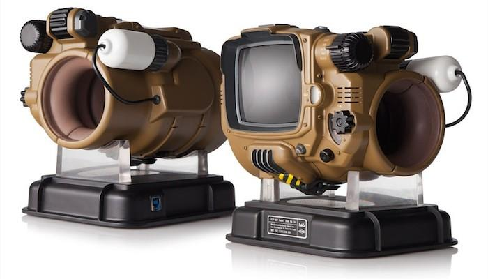 The device looks a lot like last year's preorder bonus for Fallout 4, but has more practical functionality
