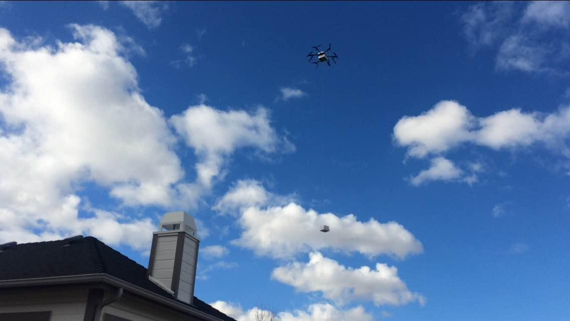 Flirtey and 7-Eleven have been making deliveries by drone to customers near a store in Reno, Nevada