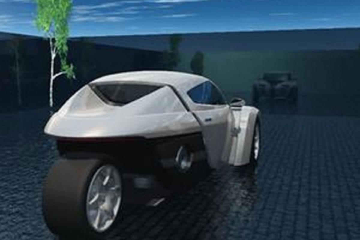 ZAP Alias highway electric car