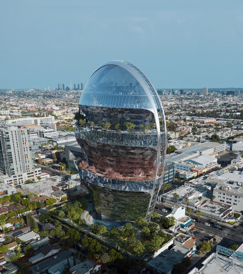 The Star would have 22 floors and feature significant greenery, both inside and out