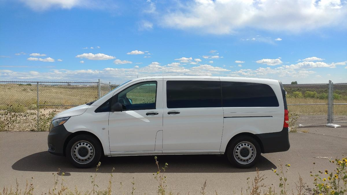 The Mercedes-Benz Metris fits somewhere between the compact and full-sized offerings normally found in the commercial van segments
