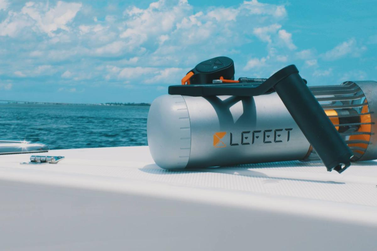 The LeFeet S1 is currently on Kickstarter