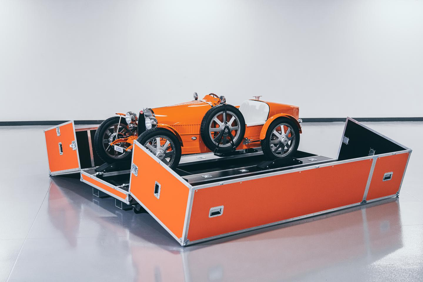 Bugatti has only produced 500 of its Baby II roadsters