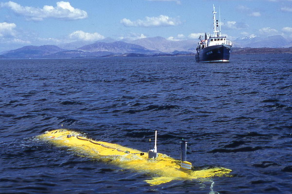 A new algorithmic system allows AUVs to reach their destinations faster, or to use less power, by identifying and traveling with existing ocean currents (Photo: Stifyn Tonna)