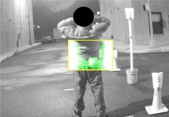 The New York Police Department is developing a portable scanner for detecting concealed guns on peoples' bodies (Photo: NYPD)
