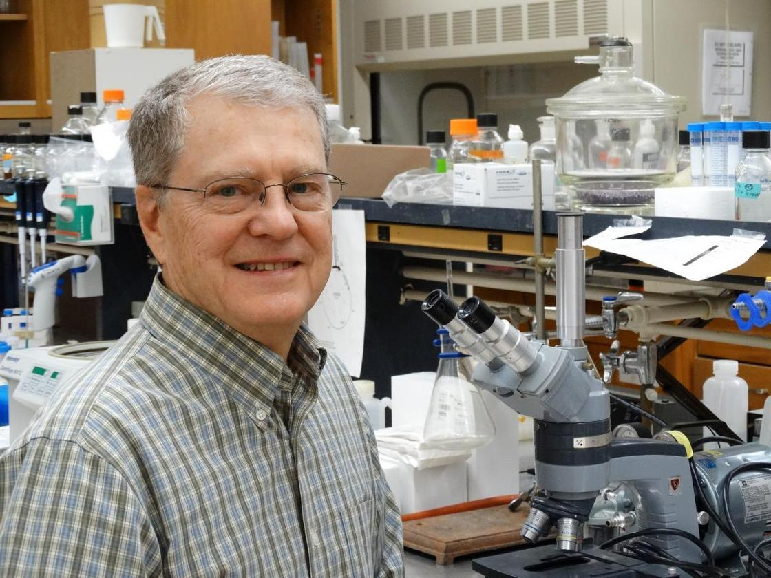 Professor Bruce Geller, ofOregon State University, was one of the authors of the paper
