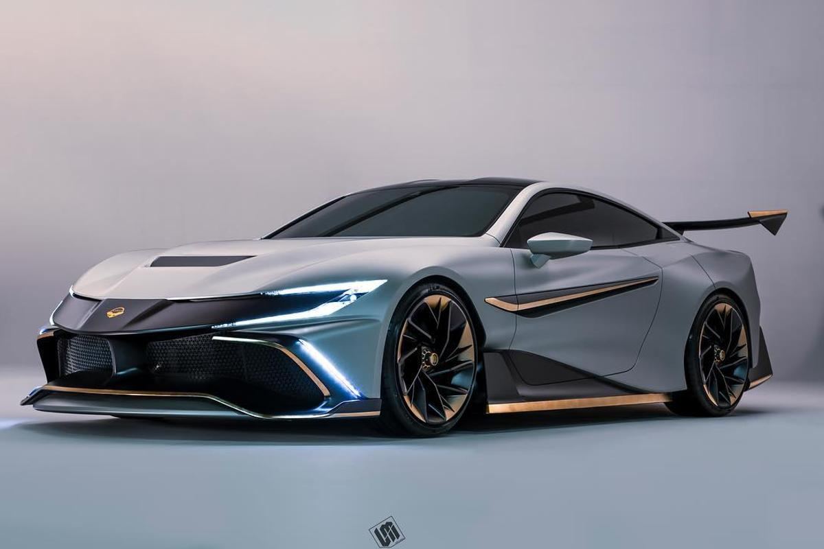 The Naran's design sticks to a pretty tried and tested coupe shape, hoping that details and materials will set it apart