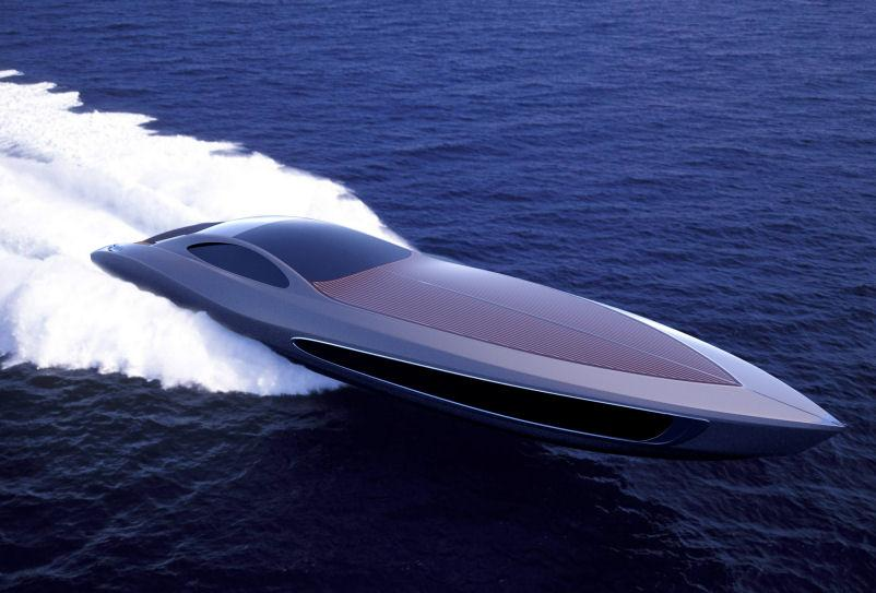 With the optional booster, the Strand Craft 122 can reach over 50 knots