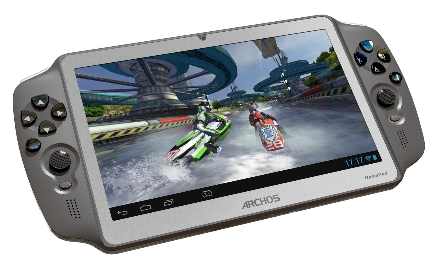 The ARCHOS GamePad adds physical buttons to Android games