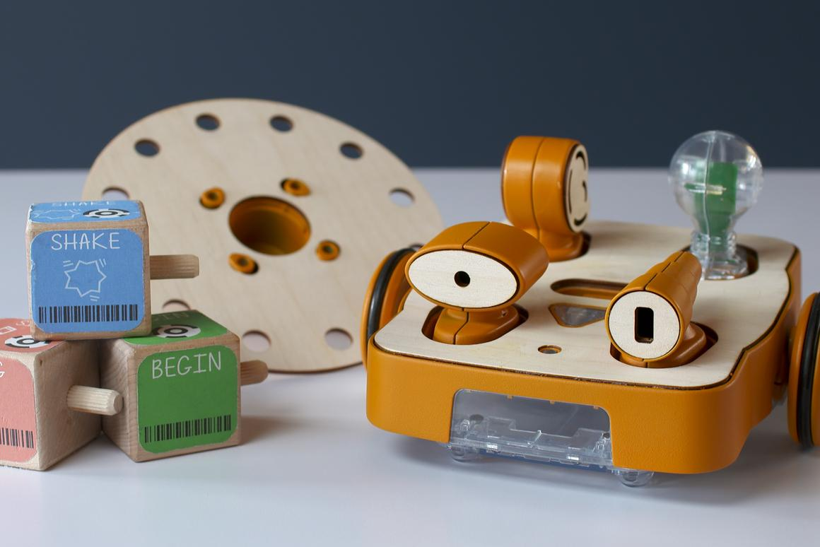 The Kibo robot kit from KinderLab Robotics