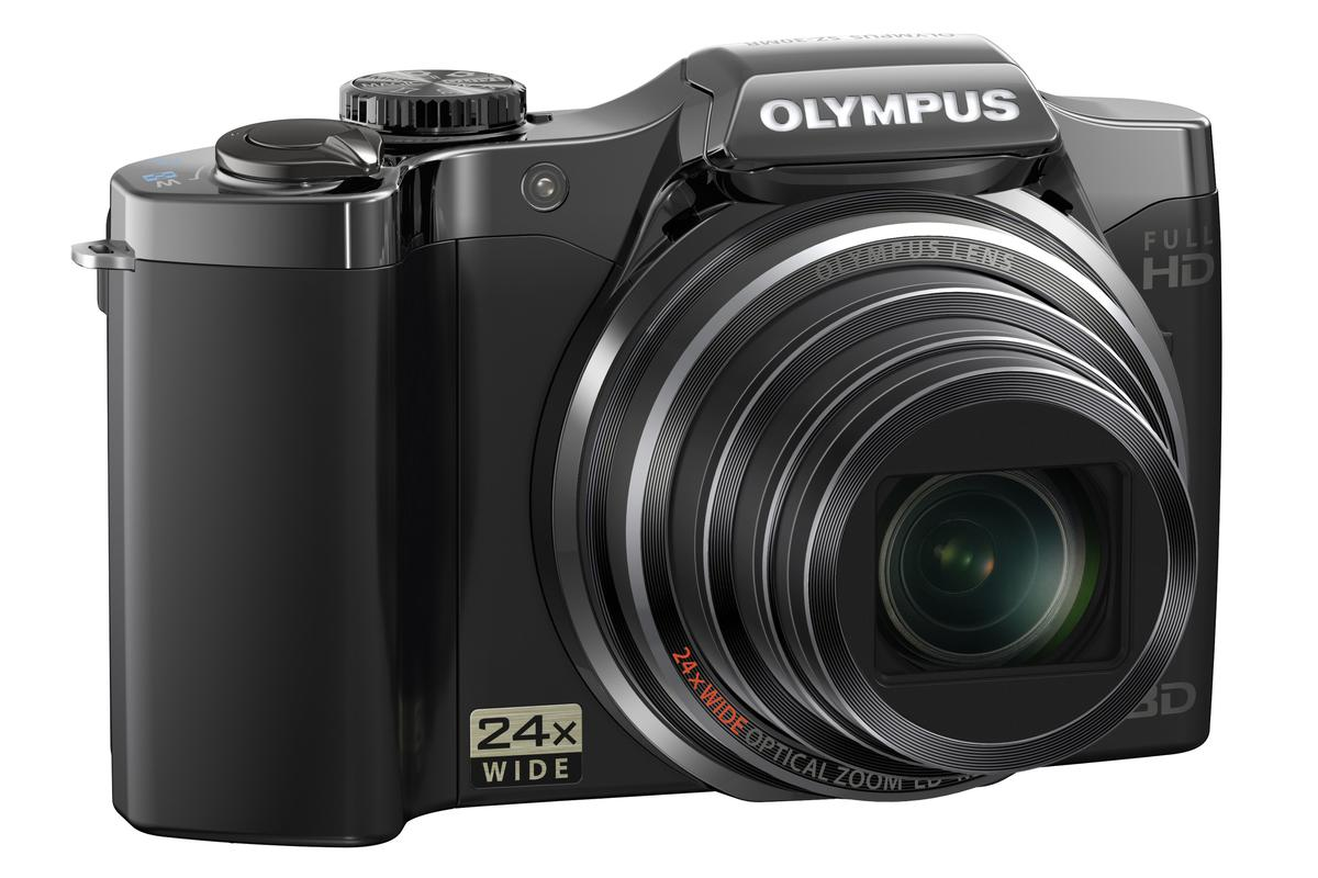 The new SZ-30MR point and shoot camera from Olympus is said to cater for simultaneous high definition movie recording and 16 megapixel still image capture