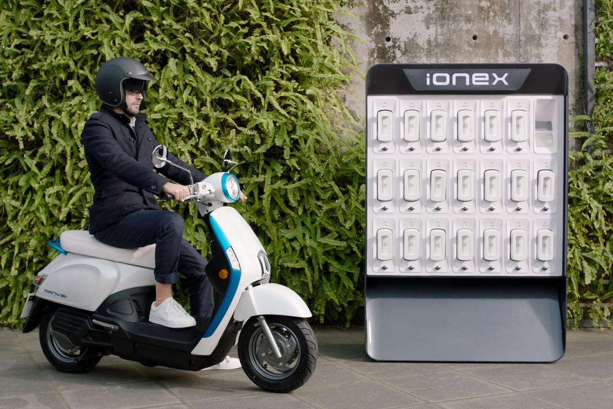 With the 2018 Ionex, KYMCO wants to establish an open plan energy platform