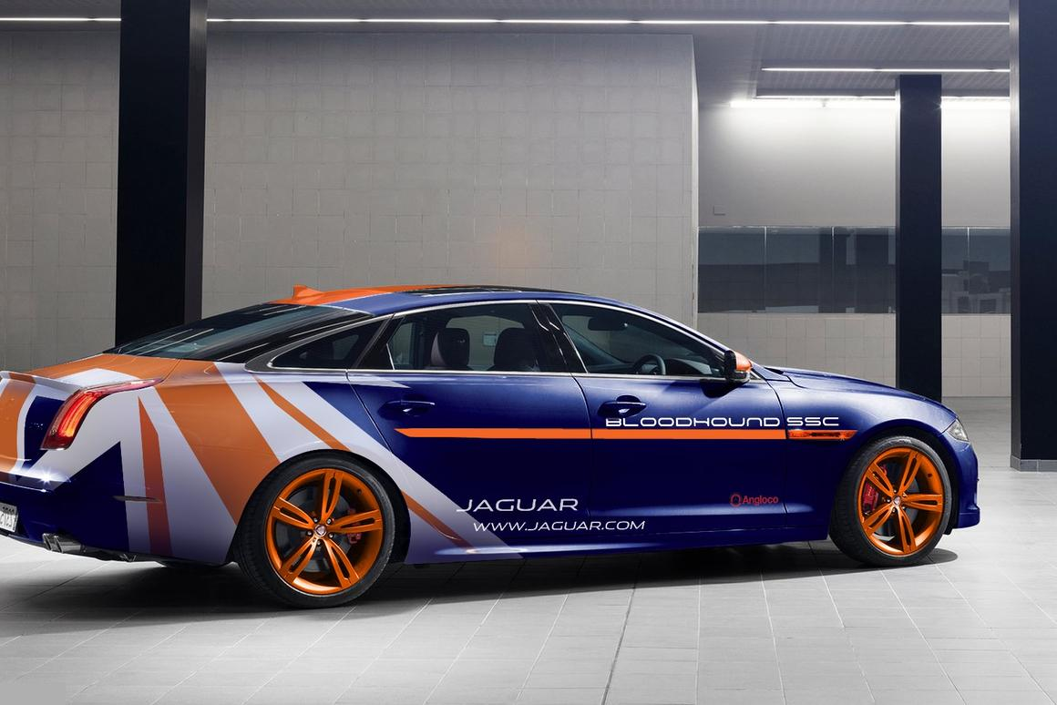 Jaguar will show the XJR RRV at the upcoming Goodwood Festival of Speed