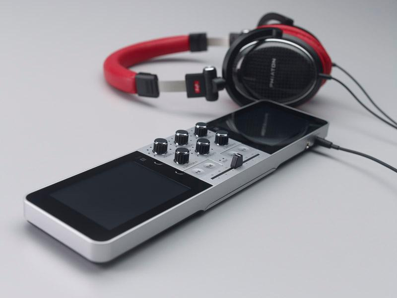 The mix can be monitored before it gets unleashed on party goers by plugging some cans into the 3.5-mm headphone jack