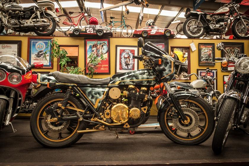 In pictures: John Gee's extraordinary Antique Motorcycles