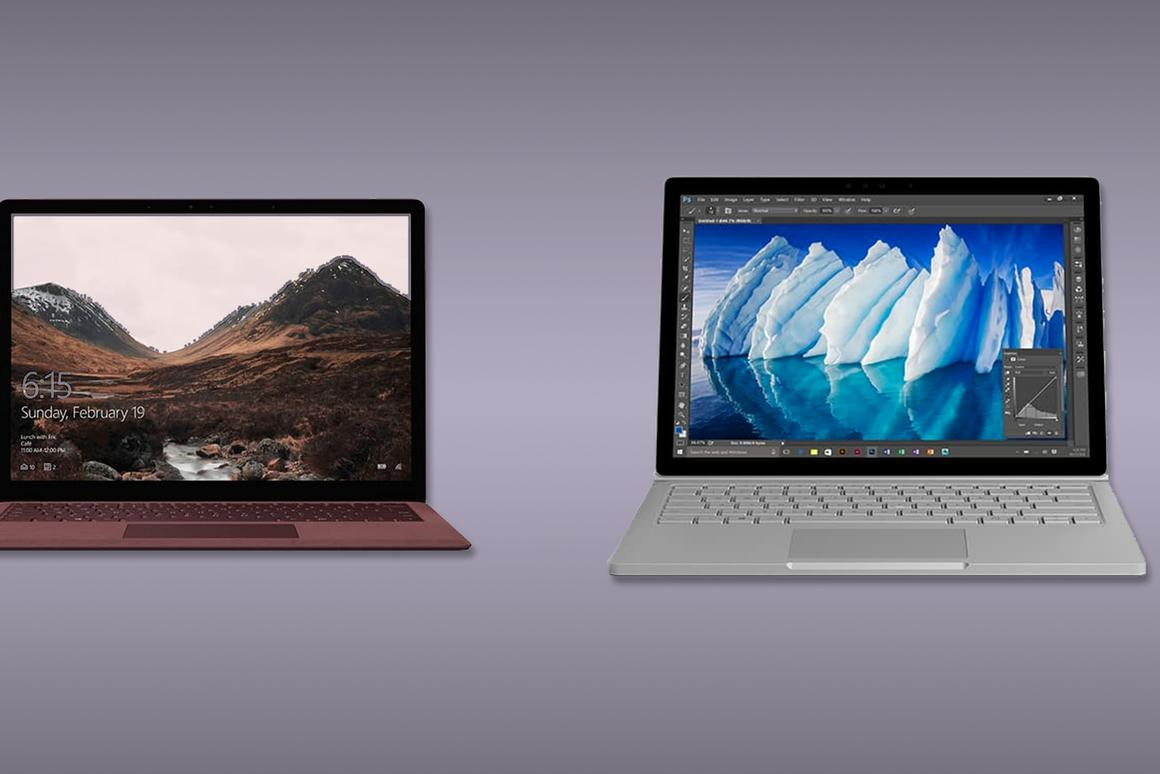 Here's how the latest laptop in Microsoft's Surface lineup compares to the top-of-the-line Surface Book
