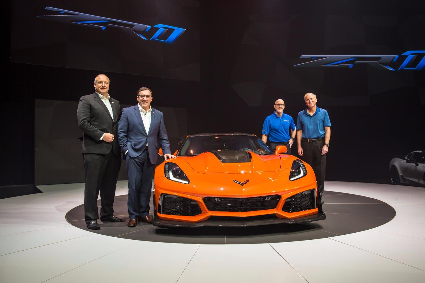 2019 Corvette ZR1: launched in Dubai