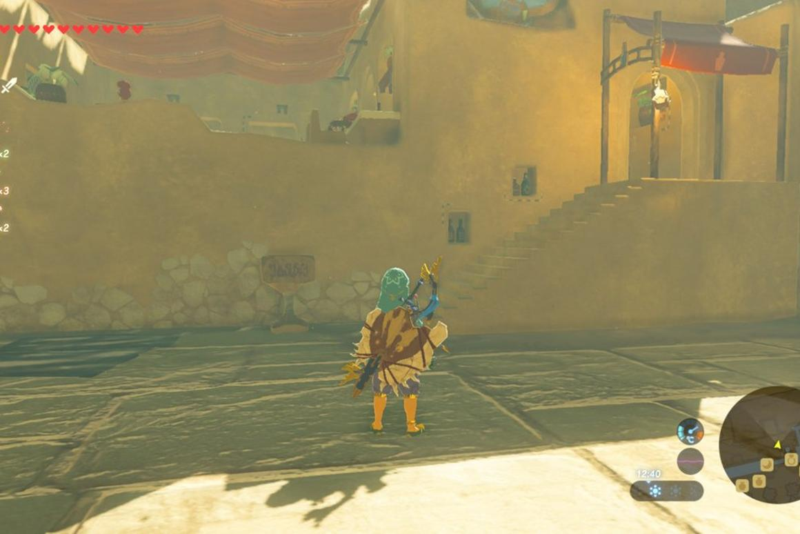 How to unlock Gerudo Town's secret store and buy Radiant