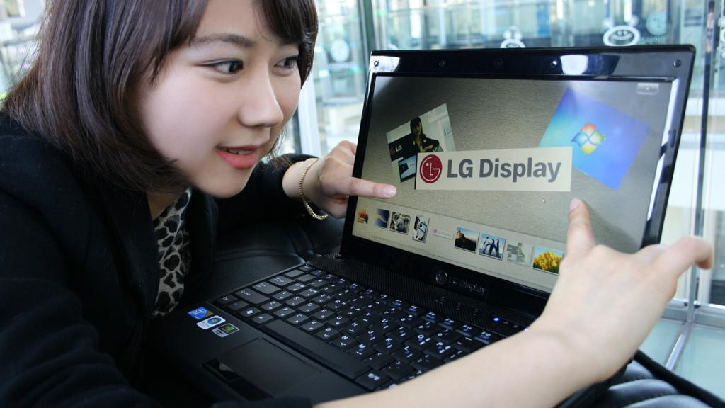 LG's 13.3-inch Capacitive In-Cell Multi-Touch LCD panel