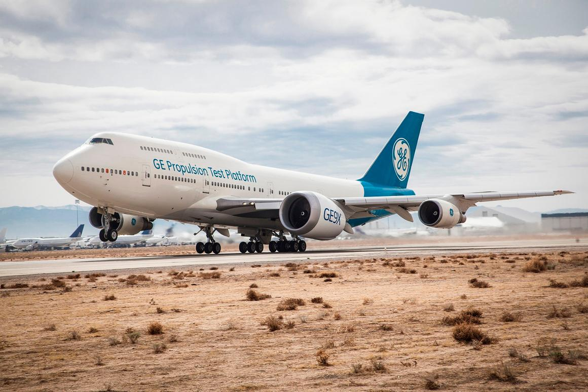 The GE9X is the world's largest jet engine