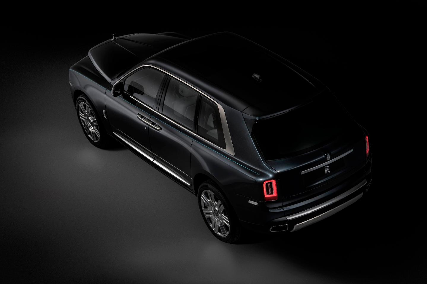 Rolls-Royce sought to redefine the shape of an SUV with a three-box design