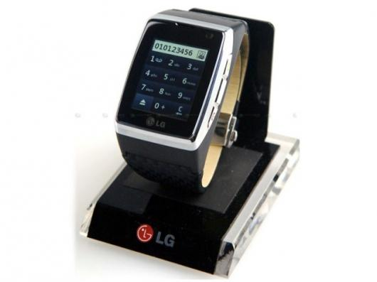 The LG-GD910 Touch Watch Phone