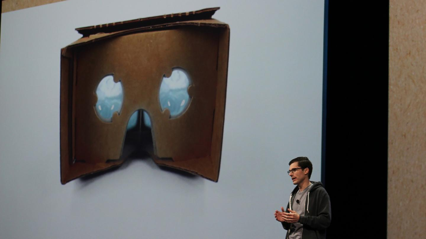 Google has announced a new version of its low-cost Cardboard headset