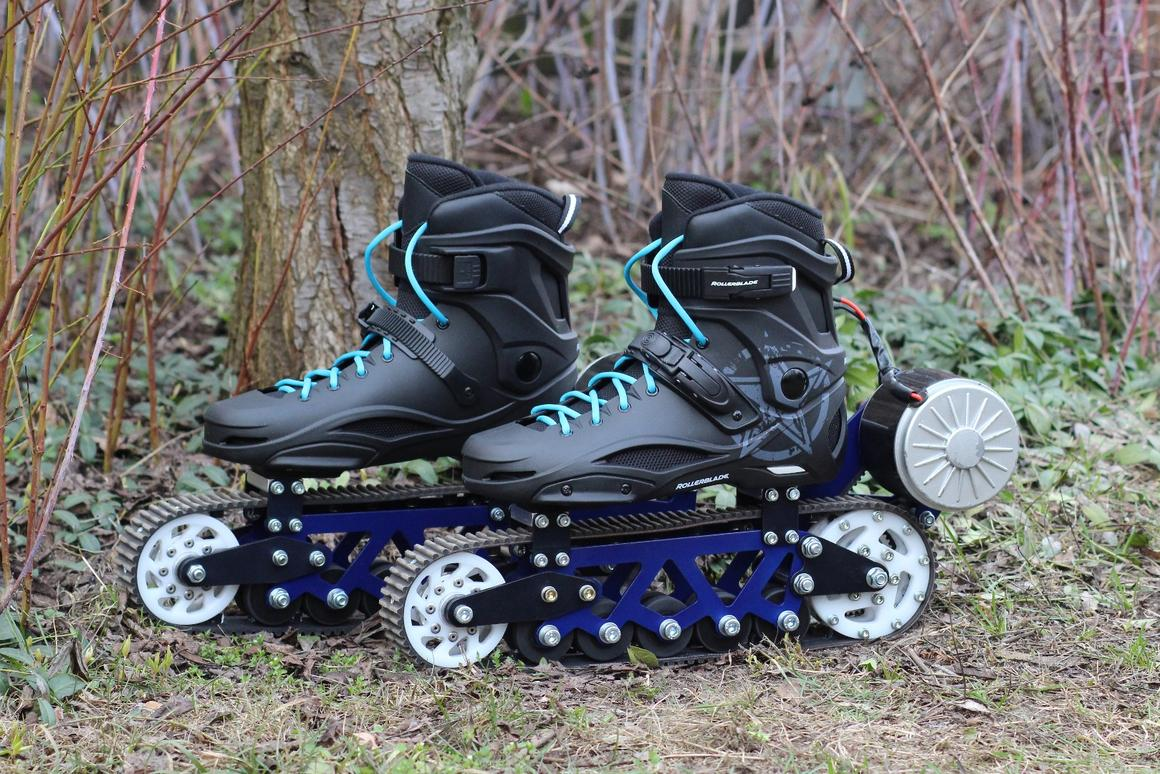 "Designed for the dirt: The electric ""off-rad rollerblades"" by Jack Skopinski"